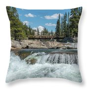 Bridge On The Pct Throw Pillow