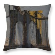 Bridge One Throw Pillow