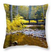 Fall Creek Throw Pillow