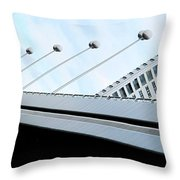 Bridge Over The Danube Throw Pillow