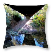 Bridge Puzzle Throw Pillow