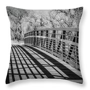 Bridge Shadows Throw Pillow
