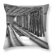 Bridge To Jerry Town Throw Pillow
