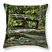 Bridge To Serenity Throw Pillow
