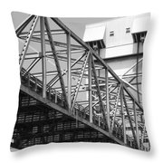 Bridge Willmington Nc Throw Pillow