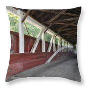 Bridge Work Throw Pillow