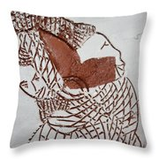 Bridged - Tile Throw Pillow