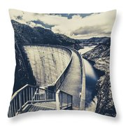 Bridges And Outback Dams Throw Pillow