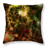 Bridges To Inner Sanctums Throw Pillow