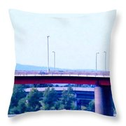 Bridges To The Vienna Woods Throw Pillow