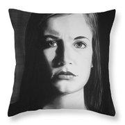 Bridget L. #3 Throw Pillow