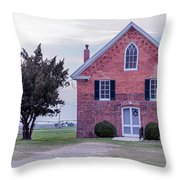 Bridgetown Historical United Methodist Church Throw Pillow