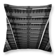 Bridgework Throw Pillow