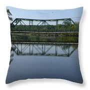 Bridging The Cathance Throw Pillow