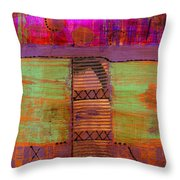 Bridging The Gap II Throw Pillow