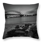 Brienenoordbrug 2 Throw Pillow