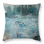 Brierly Beach Throw Pillow