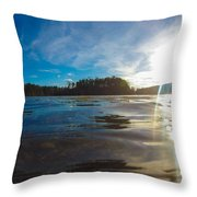 Briery Creek Lake Throw Pillow