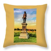 Brigadier General John Gibbon Throw Pillow