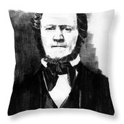 Brigham Young Throw Pillow