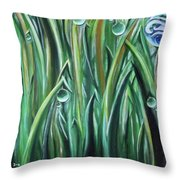 Bright And Shining Throw Pillow