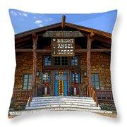 Bright Angel Morning Throw Pillow