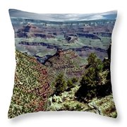 Bright Angel Trail Throw Pillow