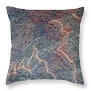 Bright Angel Trail II Throw Pillow
