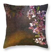 Bright Bough Throw Pillow