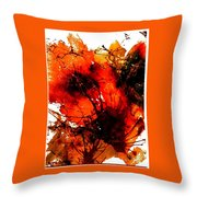 Bright Bouquet Throw Pillow