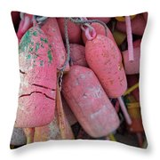 Bright Bunch Throw Pillow
