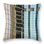 Bright City 2 Throw Pillow
