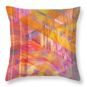 Bright Dawn Throw Pillow
