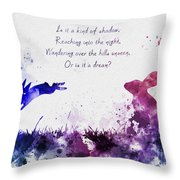 Bright Eyes 2nd Edition Throw Pillow