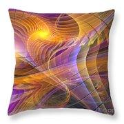 Bright Idea - Square Version Throw Pillow