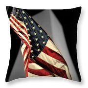 Bright In The Night Throw Pillow
