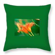 Bright Mother's Day Card Throw Pillow