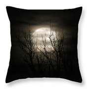 Bright Night Throw Pillow