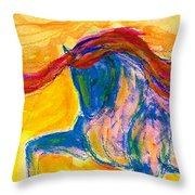 Bright Passage Throw Pillow