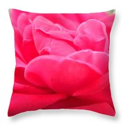 Bright Pink Throw Pillow