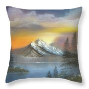 Bright Sky Throw Pillow