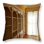 Bright Window Throw Pillow