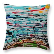 Brighter Day 1 Of 2 Throw Pillow
