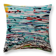 Brighter Day 2 Of 2 Throw Pillow