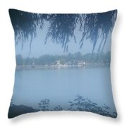 Brighter Than The Mist Throw Pillow