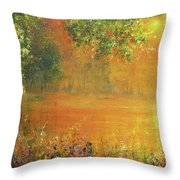 Brightest Spring Throw Pillow
