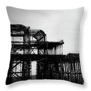 Brighton 2 Throw Pillow
