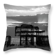 Brighton 3 Throw Pillow