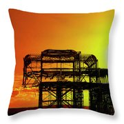Brighton 4 Throw Pillow