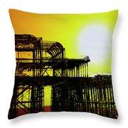 Brighton 5 Throw Pillow